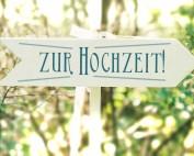 Individuelle Hochzeits-Papeterie Hannover | Save the date Einladungskarte Antwortkarte Schild