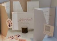 Individuelle Hochzeits-Papeterie Hannover | Save the date Einladungskarte