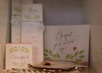Individuelle Hochzeits-Papeterie Hannover | Save the date Einladungskarte Tischdeko Gästebuch