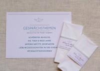 Individuelle Hochzeits-Papeterie Hannover | Save the date Einladungskarte Antwortkarte