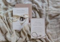 Individuelle Hochzeits-Papeterie Hannover | Save the date Einladungskarte Pocket