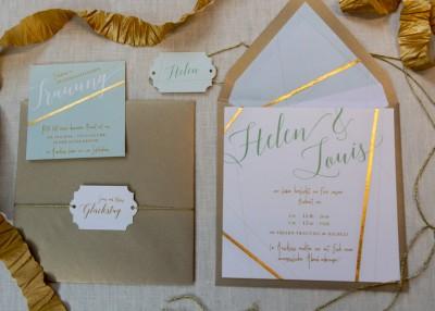 Individuelle Hochzeits-Papeterie Hannover   Save the date Einladungskarte Pocket