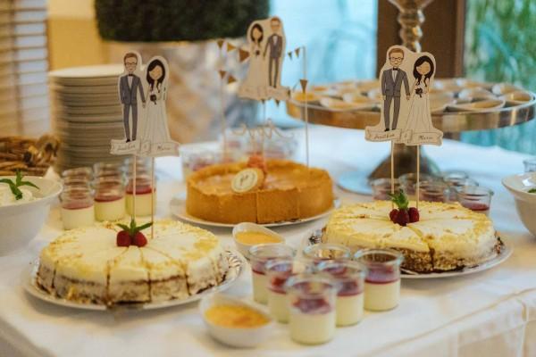 Individuelle Hochzeits-Papeterie Hannover | Fächer Programmheft Menü Tagesablauf
