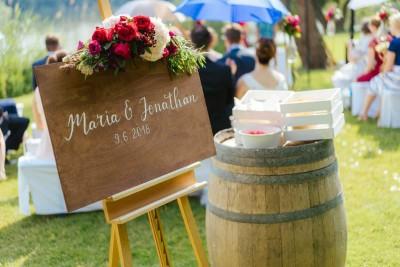 Individuelle Hochzeits-Papeterie Hannover | Willkommensschild