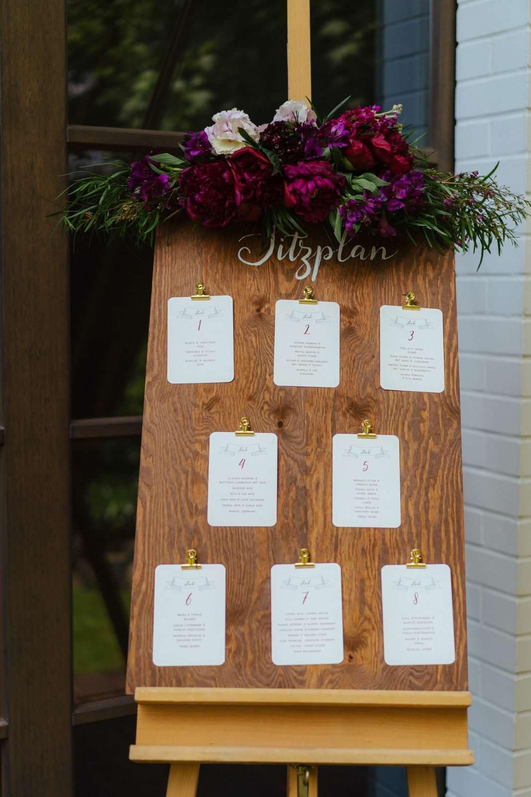 Individuelle Hochzeits-Papeterie Hannover   Fächer Programmheft Menü Tagesablauf