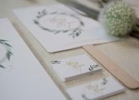 Individuelle Hochzeits-Individuelle Hochzeits-Papeterie Hannover | Fächer Programmheft Menü Tagesablauf Hannover | Save the date Einladungskarte Pocket