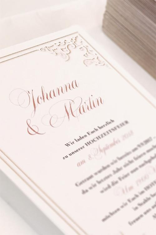 Individuelle Hochzeits-Papeterie Hannover | Save the date Einaldungskarte